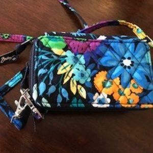 NWOT Vera Bradley Clutch Crossbody Wallet